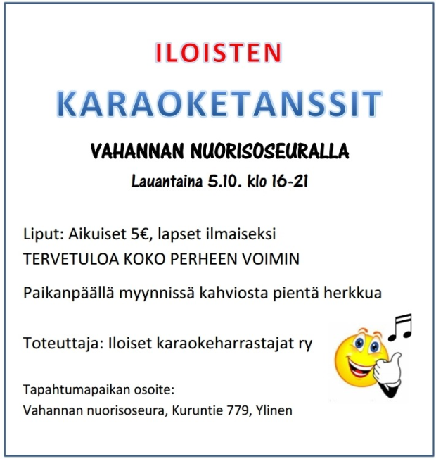Vahannan NS Karaoketanssit